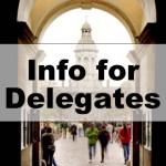 Info for Delegates